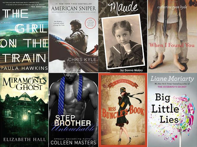 Top 50 Best Sellers on Kindle – 2015